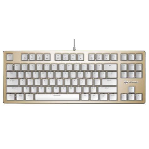 Keyboard Gaming 500 Ribuan rapoo v500 rgb backlight gold mechanical gaming keyboard 87 black blue brown switches sale