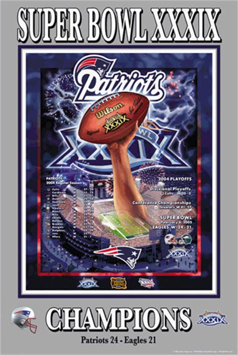 Football Stadium Wall Murals new england patriots super bowl xxxix poster posters pictures