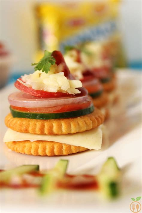 canape toppings monaco biscuit canapes monaco biscuit toppings recipe
