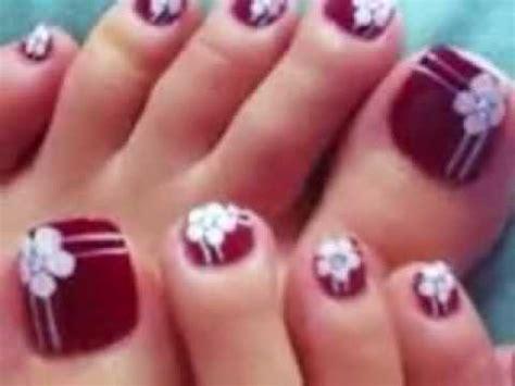 imagenes de uñas bonitas para los pies decoraci 243 n de u 241 as para pies dise 241 o u 241 as pies youtube