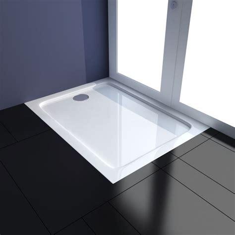 plato ducha 70 x 90 plato de ducha rectangular 70 x 90 cm vidaxl es