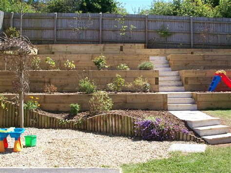 tiered backyard landscaping ideas triyae tiered backyard landscaping ideas various