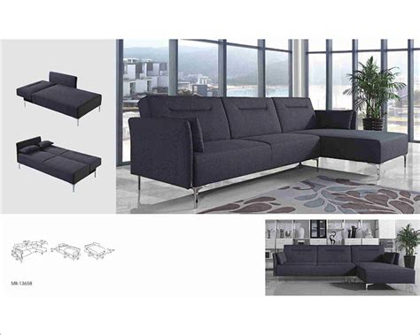 sectional fabric sofa grey fabric sofa bed sectional in contemporary style 44l5951