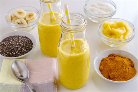 Turmeric Detox by Pineapple Turmeric And Chia Seed Cleansing Smoothie