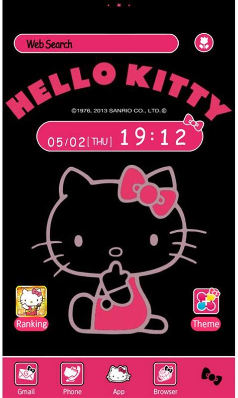 free hello kitty themes to download hello kitty launcher home android apps games on