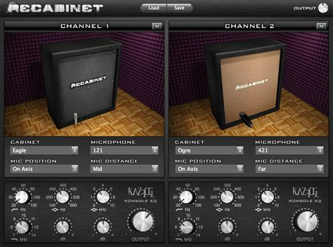 Bass Cabinet Simulator by Kazrog Recabinet 3 Speaker Cabinet Simulation For Windows