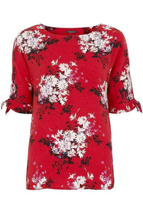 Shoulder Floral Top floral print cold shoulder top