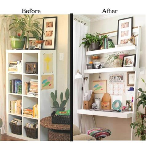 bookcase desk diy 40 brilliant diy furniture projects that are easy to make