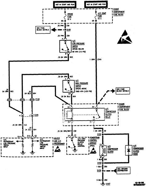 1997 cadillac eldorado a c compressor clutch not engaging i see battery at the compressor