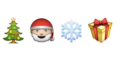 images of christmas emojis bustle