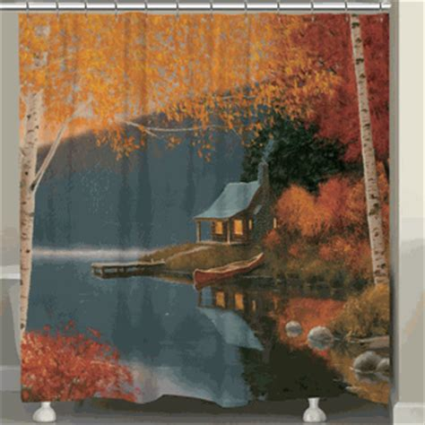 wilderness curtains peaceful wilderness shower curtain