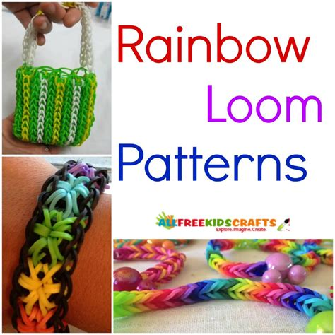 CRAFTING MADE EASY Rainbow Loom Instruction Manual Patterns