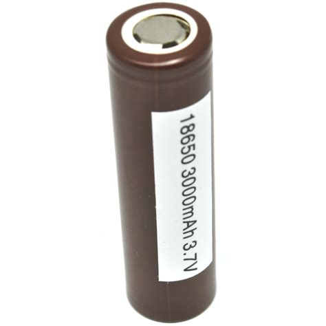Battery 18650 3 7v Power lg hg2 18650 li ion battery 3000mah 3 7v with flat top