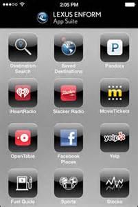 Lexus App Suite Lexus Owners Site Lexus Drivers