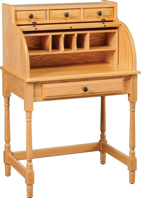 carlisle oak student rolltop desks
