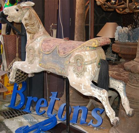 Cottage Decor Antique Carousel Horse Decor Brocante Amp Cottage Style