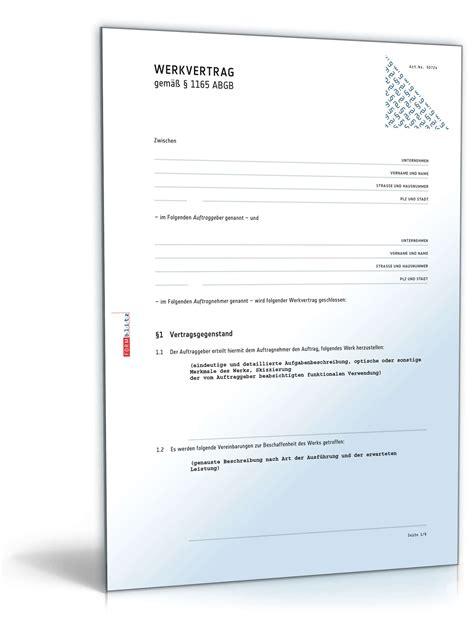Muster Rechnung Werkvertrag vorlage rechnung werkvertrag 28 images muster