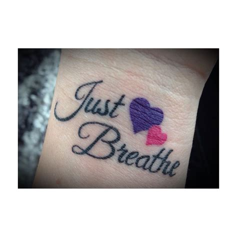 breathe tattoo just breathe tattoos