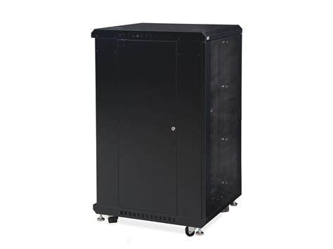 24 inch depth cabinets 22u linier 174 server cabinet glass glass doors 24 quot depth