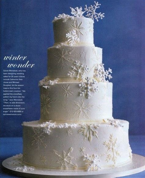 Best 25  Winter wedding cakes ideas on Pinterest