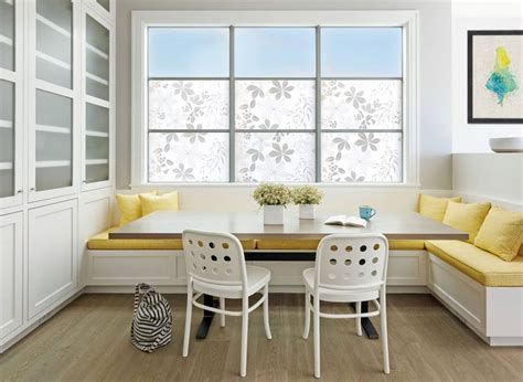 used banquette seating dining room design idea use built in banquette seating to save space contemporist