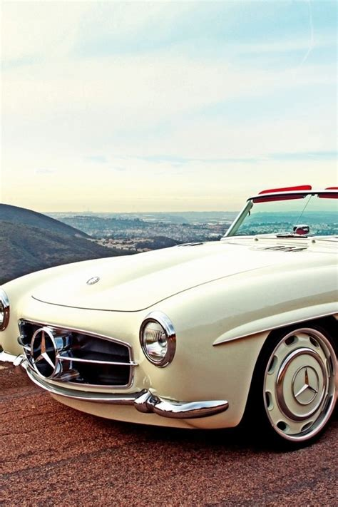 classic car wallpaper set options landscapes cars roads white classic mercedes