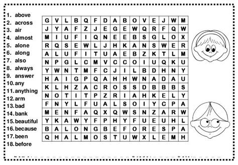 printable word search second grade 11 images of 2nd grade word search coloring pages