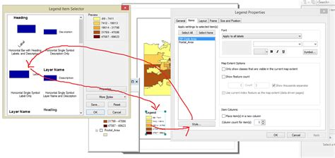 arcgis layout view add legend arcgis desktop how to remove text from legend in layout