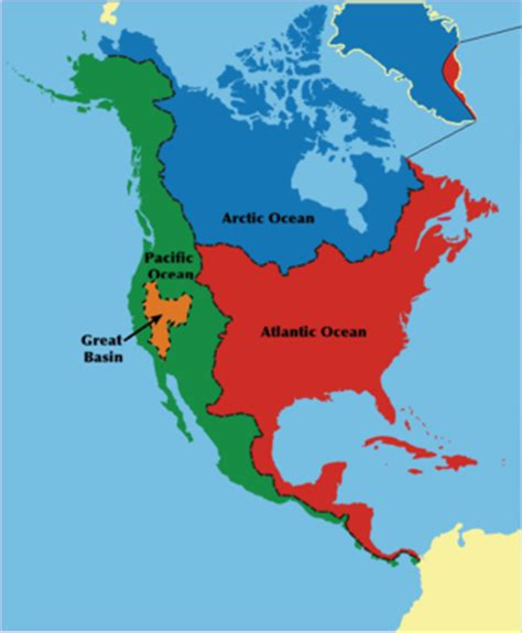 map of the united states great basin watersheds of north america wikipedia
