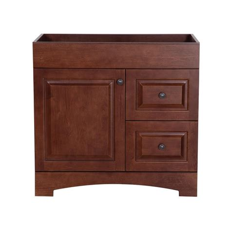 glacier bay regency 30 in vanity cabinet only in auburn