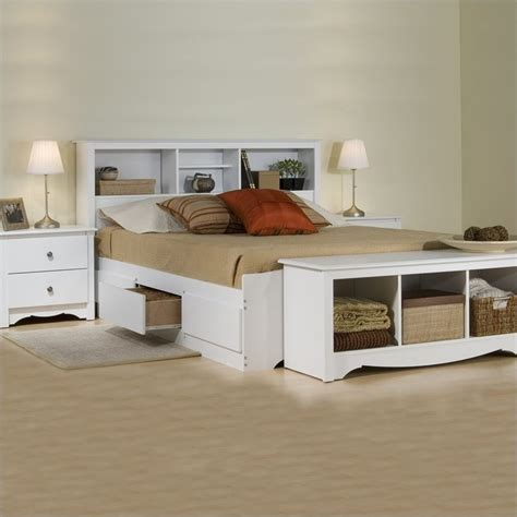 churchill platform storage queen bedroom set white queen wood platform storage bed 3 piece bedroom set