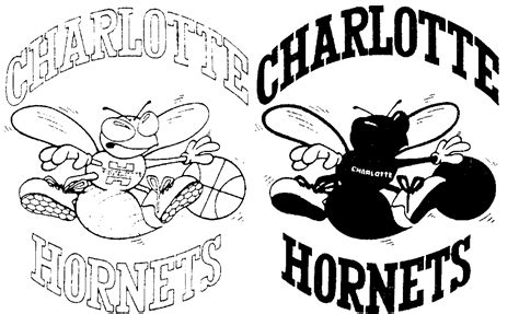 nba hornets coloring pages charlotte bobcats free coloring pages
