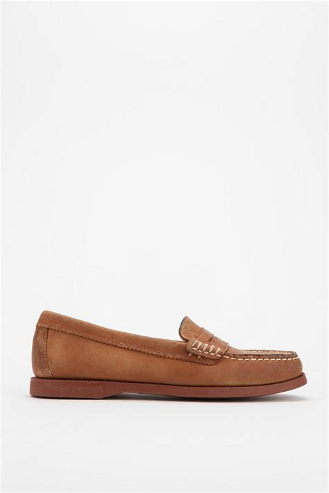 sperry hayden loafer sperry top sider hayden loafer in brown lyst
