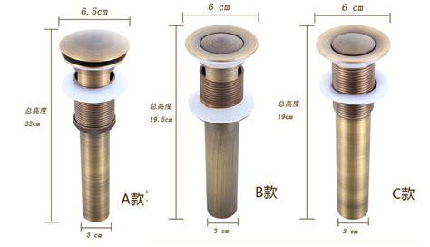 Bathroom Sink Drain Parts by 2015 High Quality Solid Anti Bronze Brass Bathroom