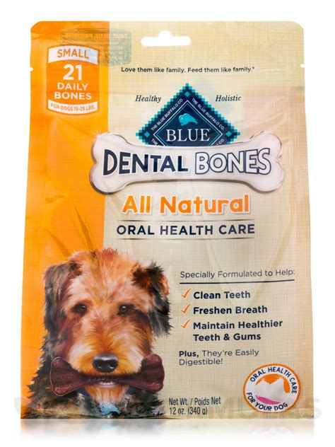 Dental Bone For Small blue dental bones small size for dogs 15 25 lbs 21 daily