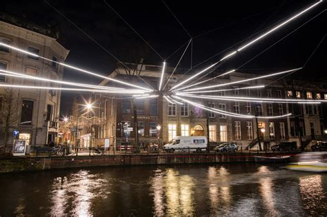 designboom amsterdam all seeing eyes and wormholes light up amsterdam s