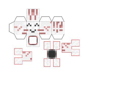 Minecraft Papercraft Ghast - papercraft mini ur ghast 6 versions
