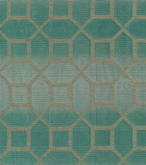 home decor print fabric elite andrade teal jo