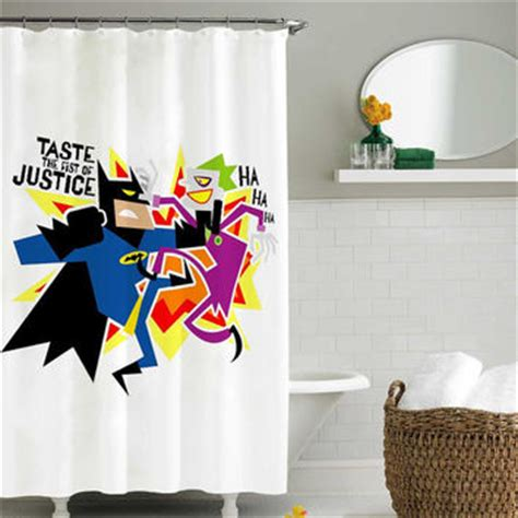 joker shower curtain batman vs joker shower curtain shower from sarbotexas on etsy