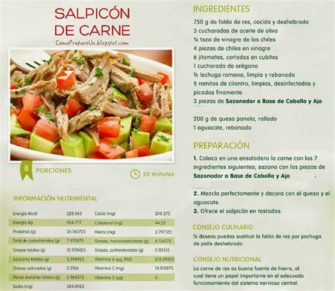 las recetas de las 8416984085 como preparo un salpicon de carne 8 porciones en 20 minutos recetas de comida del per 218 y mas