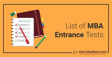 Tiss Mba Entrance by List Of Mba Entrance Tests