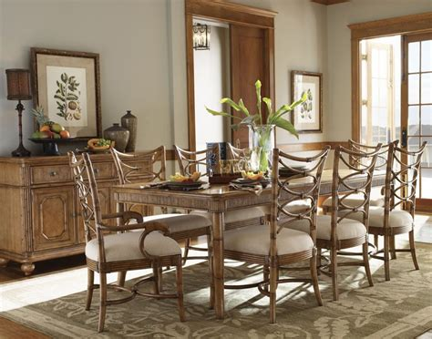 Lexington Dining Room Set | beach house boca grande dining set lexington dining room