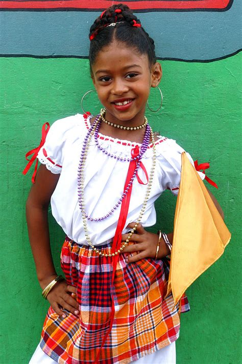 Fabulous News The Costume National Community Is Taking by National Costume St Lucia Photograph By Chester Williams