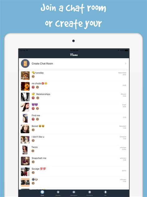 live chat room for single mumu chat live chat rooms dating singles on the app store