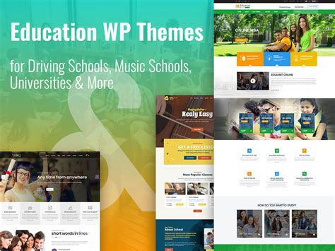 education theme music education wordpress themes for schools and colleges wp daddy