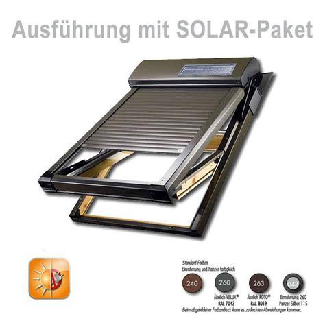 dachfenster rolladen velux dachfensterrollladen atix a mit solar velux 174 ggl moderne