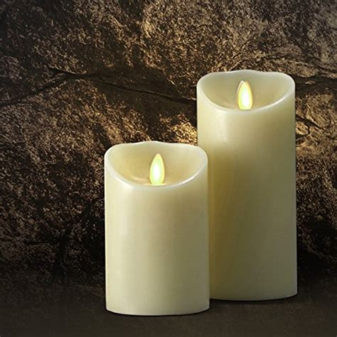 Mirage Led Realistic 5 Quot Wax Pillar Flameless - 20 best and coolest scented flameless candles