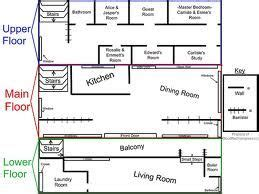 twilight house floor plan cullen house floor plan cant believe they have assigned bed rooms the twilight