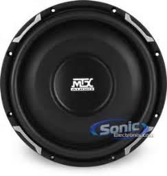Speaker M Tech 21 Subwoofer Mt 1000 mtx fpr10 02 10 quot flat piston series shaloow mount car subwoofer