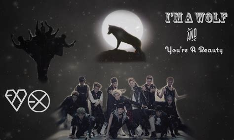 exo wallpaper livejournal exo wolf wallpaper i m a wolf and you re a beauty by
